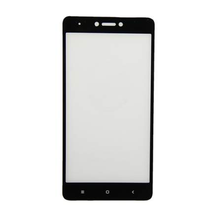 Защитное стекло для Xiaomi Redmi Note 4X (2,5D/полная наклейка) <черный>
