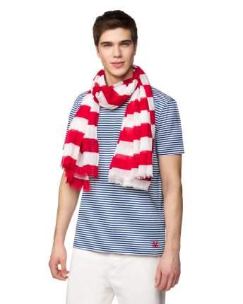 Принтованный шарф мужской Benetton 6GVXU52N1 красный