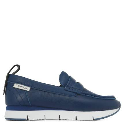 Мокасины женские Calvin Klein Jeans SONORA_1 синие 38 EU