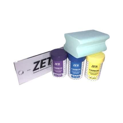 Набор Zet №2 (Смазки сцепления Carbon (0-2),(-2-5),(-5-10), Пробка, скребок 3мм)100гр