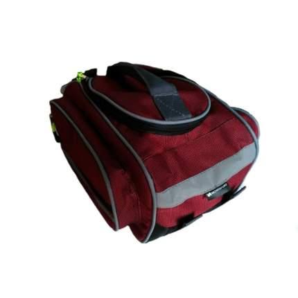 Велосипедная сумка NovaSport Джаст-3 красная