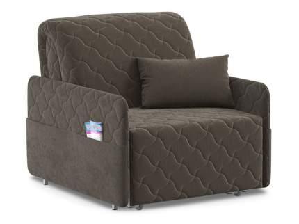 Кресло-кровать Тино Коричневый, велюр