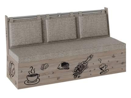 Кухонный диван Кухонный диван Роденго Дуб сонома трюфель / Бежевый, ткань