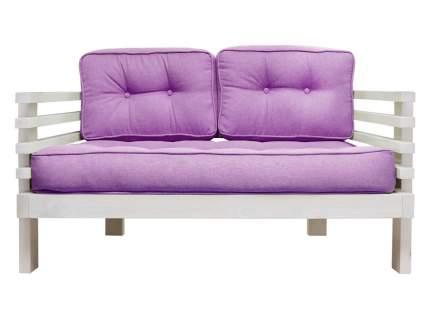 Прямой диван Стоун Мини сосна беленый дуб Фиолетовый, рогожка