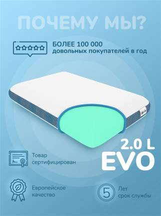 Подушка ортопедическая Darwin Evo 2.0 L