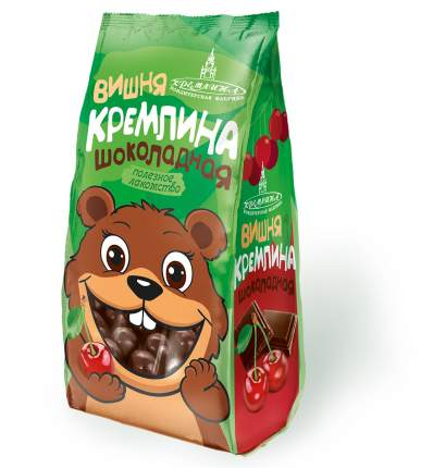 Драже Кремлина вишня шоколадная 130 г