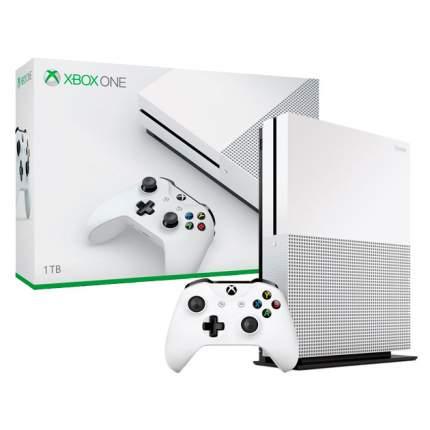 Игровая приставка Microsoft Xbox One S 1Tb White