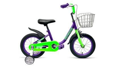 Велосипед Forward Barrio 14 2019 фиолетовый