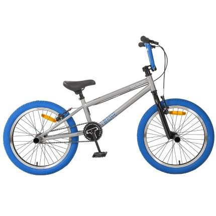 "Велосипед Tech Team BMX Goof 20 2020 18.7"" серо-синий"