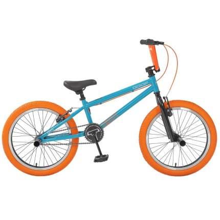 """Велосипед Tech Team BMX Goof 20 2020 18.7"""" бирюзово-оранжевый"""