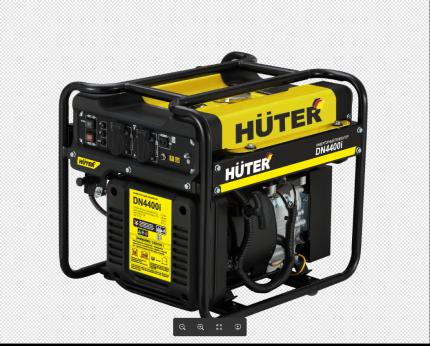 Инверторный генератор Huter DN4400i желто-черный (64/10/5)