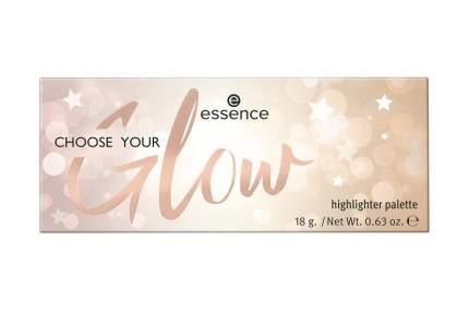 Палетка Хайлайтеров essence Choose your glow