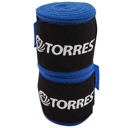 Бинты боксерские Torres PRL619016 2.5 м, -, синий, хлопок
