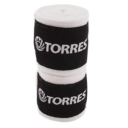 Бинты боксерские Torres PRL619016 2.5 м, -, белый, хлопок