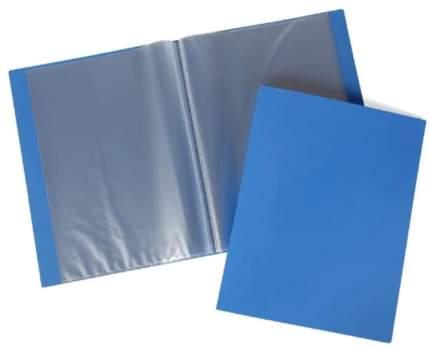 """Папка с 40 вкладышами """"Line"""", А4, 21 мм, синяя"""