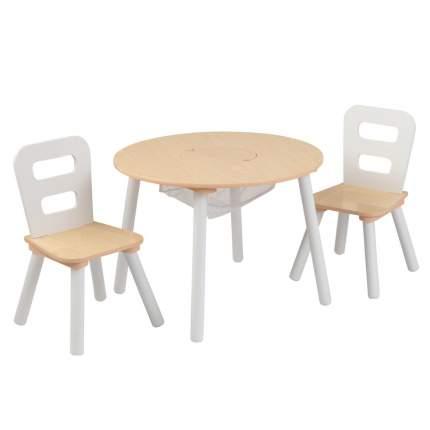 Комплект детской мебели стол + 2 стула Сокровищница Kidkraft 27027_KE