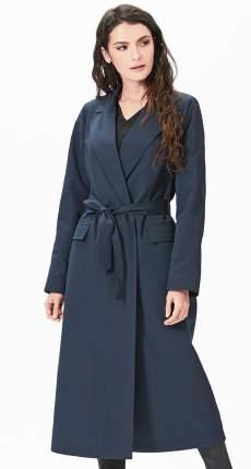 Тренч женский D`imma fashion studio 2051 темно-синий 44 EU