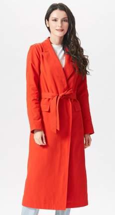 Тренч женский D`imma fashion studio 2051 красный 44 EU