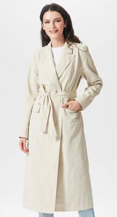 Тренч женский D`imma fashion studio 2051 слоновая кость 48 EU