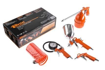 Набор пневмоинструмента WESTER STG-10 набор пневматический (5 шт,)
