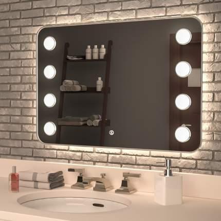 """Зеркало MIXLINE """"Марко"""" 800*550 сенсорный выключатель, светодиодная подсветка"""