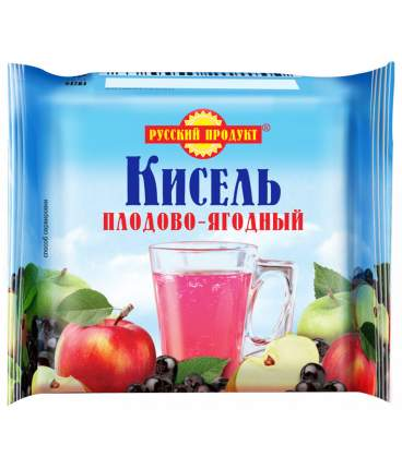 Кисель брик плодово-ягодный 220 г 14 шт