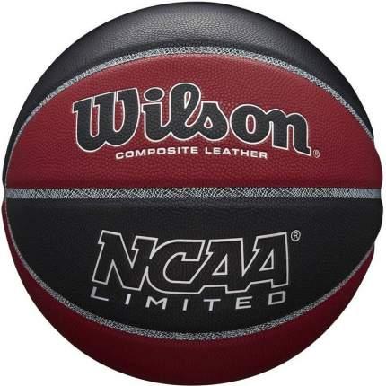 Баскетбольный мяч Wilson NCAA Limited №7 black/brown