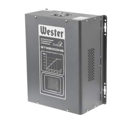 Стабилизатор напряжения WESTER STW5000NS