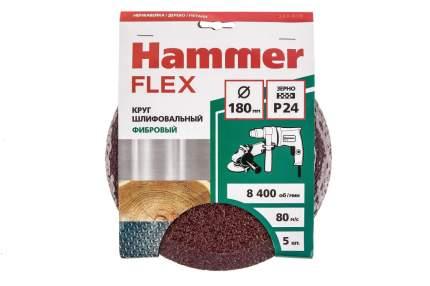 Круг фибровый HAMMER 243-018