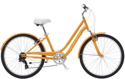 """Велосипед Schwinn Suburban Ladies 2020 17.5"""" оранжевый"""