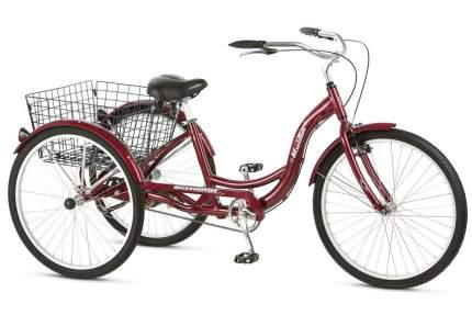 Комфортный велосипед Schwinn Meridian (2020) размер колеса 26 Красный