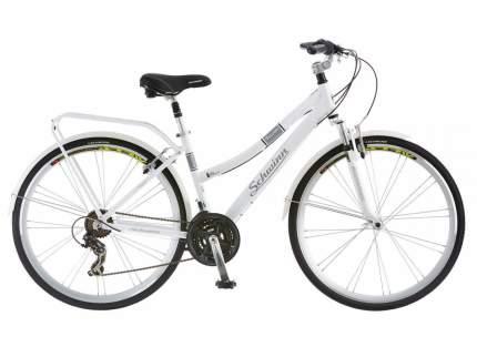 """Велосипед Schwinn Discover Womens 2020 17"""" белый"""