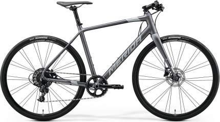 """Городской велосипед Merida Speeder Limited (2020) размер рамы 52 см"""" Серый"""