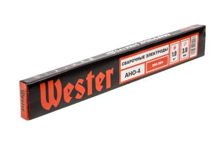 Электроды для сварки WESTER АНО-4, 3,0 мм, 1 кг
