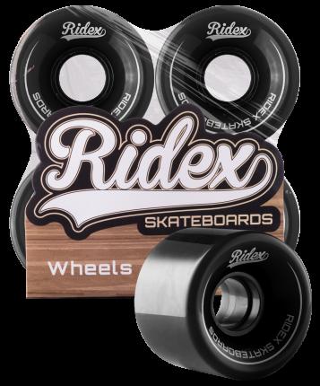 Комплект колес для круизера Ridex SB, чёрный, 4 шт., 60 мм