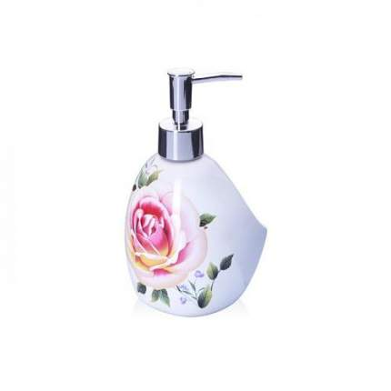 Дозатор для жидкого мыла LORAINE, Нежность, 450 мл