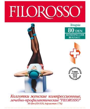 Колготки Filorosso компрессионные профилактические TERAPIA 80 den 2 класс черный р.3