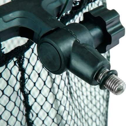 Спортивный садок с прорезиненной сеткой и винтовым креплением Mikado S21-4040-150