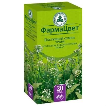 Пастушьей сумки трава фильтр-пакетики 1,5 г 20 шт.