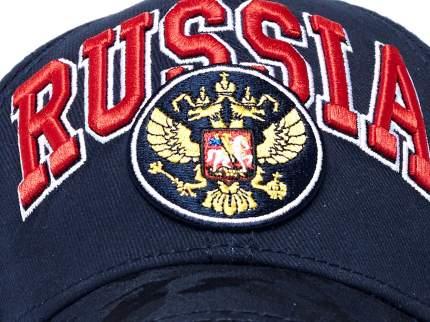 Бейсболка Atributika&Club Россия 101544 синяя