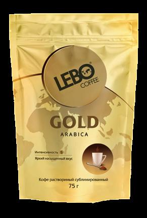 Кофе сублимированный Lebo Gold м/у 75 г