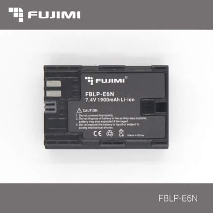 Аккумулятор для фотокамер Canon Fujimi FBLP-E6N (1900 mAh)