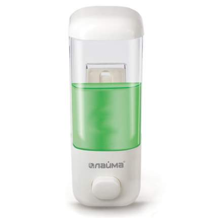 Диспенсер для жидкого мыла лайма, 0,5 л, прозрачный