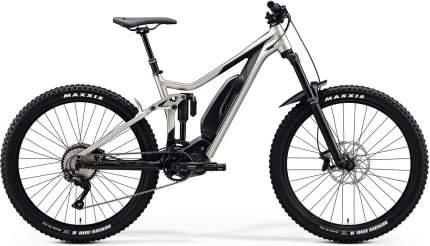 """Электровелосипед Merida eOne-Sixty 500 SE (2020) размер рамы 43 см"""" Серо-черный"""