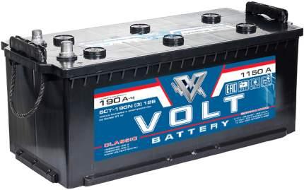 Аккумулятор автомобильный VOLT CLASSIC 6СТ-190.3 VC19031