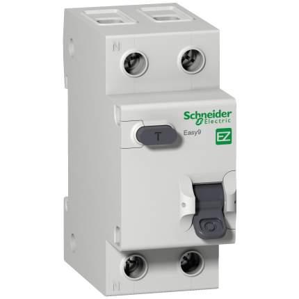 Диф, автомат SCHNEIDER ELECTRIC EASY9 АВДТ 1П+Н 25А 30мА C AC