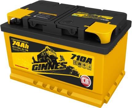 Аккумулятор автомобильный GINNES LB 6CT-74.0 GL7401