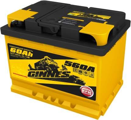 Аккумулятор автомобильный GINNES EFB 6CT-60.0 GE6001