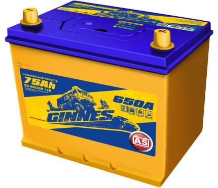 Аккумулятор автомобильный GINNES Asia 6CT-75.1 / 85D26R GA7511