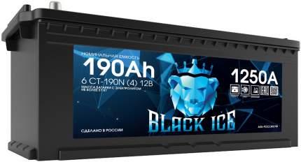 Аккумулятор автомобильный BLACK ICE 6СТ-190.4 BI19041